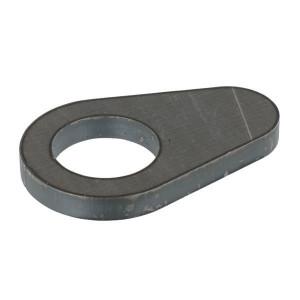 Borgplaat - UNLP430 | Voorzien van centreerlijn | 30,5 mm