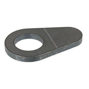 Borgplaat - UNLP435 | Voorzien van centreerlijn | 35,5 mm | 100 mm