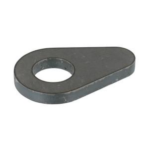 Borgplaat - UNLP450 | Voorzien van centreerlijn | 50,5 mm | 130 mm