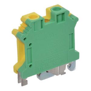 Phoenix Contact Aardklem, geel/groen, Phoenix - USLKG10N | 42,5 mm | 10,2 mm | 47 mm | 16 mm² | 10 mm² | 6 mm²