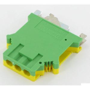 Phoenix Contact Aardklem, geel/groen, Phoenix - USLKG16 | 42,5 mm | 10,2 mm | 54 mm | 16 mm² | 10 mm² | 10 mm²