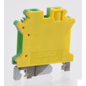 Phoenix Contact Aardklem, geel/groen, Phoenix - USLKG6N | 42,5 mm | 8,2 mm | 47 mm | 10 mm² | 6 mm² | 6 mm²