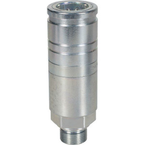 Voswinkel Koppelhuis M22x1.5 uitwendig - UX101AME22L | UX10-1-AME22L | NBR / PTFE | Wit gepassiveerd | Faster 3CFPV...F | M22 x 1,5 A | 38 mm | 110.3 mm | ISO 7241-1-A | 250 bar