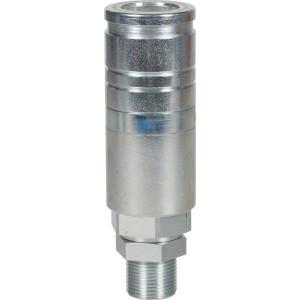 Voswinkel Koppelhuis M22x1.5-15L schot - UX101N1522L | UX10-1-N1522L | NBR / PTFE | Wit gepassiveerd | Faster 3CFPV...F | M22 x 1,5 A | 38 mm | 123.5 mm | ISO 7241-1-A | 250 bar
