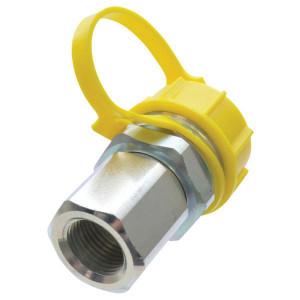 "Snelkoppeling V8T 1/2"" - V8T12F | volgens BS 1495/1 | Max. 200 bar | M36x2,0 mm | 59,5 mm | 1/2"" | 25 l/min | 250 bar"