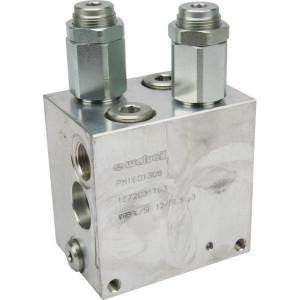 "Walvoil Balanceerventiel 12 RP 1:3 - VABALSF12 | 1/2"" BSP Inch | Aluminium | 210 bar | 1/2'' BSP | 70 l/min | 70 l/min"