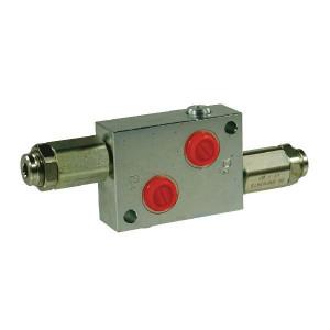 "Walvoil Drukregelventiel Staal 1/2 BSP - VADDL10001ST | 100 mm | 214 mm | 214 mm | Inbusschroef | 8,5 mm | 60 l/min | 1/2"" BSP | 5 210 bar"
