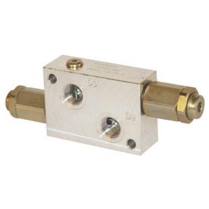 "Walvoil Drukregelventiel 3/4 BSP - VADDL20001 | 110 mm | 242 mm | 242 mm | Inbusschroef | 8,5 mm | 120 l/min | 3/4"" BSP | 0 210 bar"