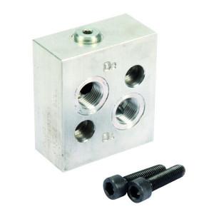 "Walvoil Terugslagklep VANT/T/12/OMS - VANT12OMS | 1/2 ""BSP | Klep in aluminium huis | 70 l/min | 1/2"" BSP | 210 bar"