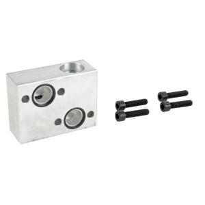 "Walvoil Terugslagklep VANT/40/OMR - VANT40OMR | 1/2 ""BSP | Klep in aluminium huis | 60 l/min | 1/2"" BSP | 210 bar"