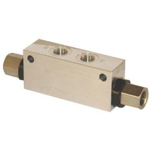 "Walvoil Gest. terugslagklep 3/8 BSP - VBPDL05001 | 1/4"" 3/4"" BSP | Tussen de leiding | Tot 100 l/min. | 110 mm | 171 mm | 8,5 mm | 35 l/min | 3/8 BSP"