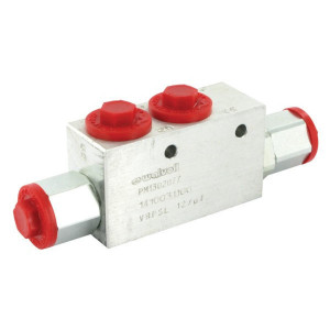 "Walvoil Gest. terugslagklep 1/2 BSP - VBPSL10001 | 110 mm | 178 mm | 110 mm | 178 mm | 8,5 mm | 1 : 4,0 | 1/2"" BSP | 50 l/min"