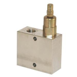 "Walvoil Volgordeventiel A12 SC 3/4 BSP - VDSRL20001 | 3/8""3/4"" BSP | Van D naar U | 110 mm | 100 mm | Inbusschroef | 8,5 mm | 120 l/min | 210 bar | 50 220 bar"