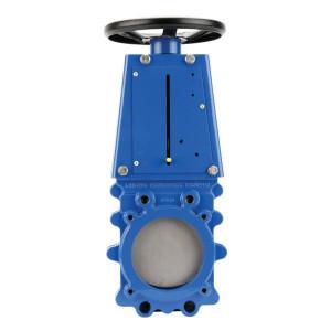 Ramus Schuifafsluiter + handwiel DN150 - VGRH150 | 150 mm | 2,5 bar | 459 mm | 250 mm | 591 mm | 140 mm | 150 mm | 4x M12x14 mm