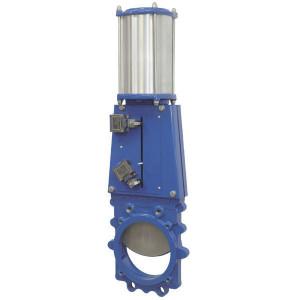 "Ramus Mesafsluiter + pn. cil. DN400 | 400 mm | 2,5 bar | 1.754 mm | 320/250 mm | G 3/8"" | 1.475 mm"