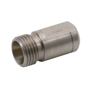 Voss Voormontagestuk 6LL - VKV6LL | Meervoudig te gebruiken | DIN 3853 / ISO 8434 | Zink / Nikkel | 6 mm | M10 x 1,0 metrisch
