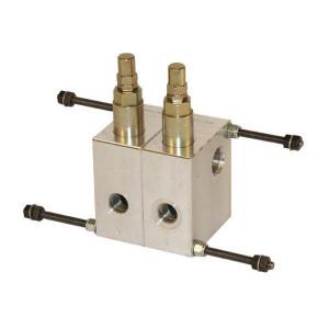 "Casappa Drukregelventiel - VLPR05002 | in-line | 40 l/min | 1/2"" BSP | 10 207 bar"
