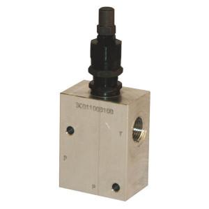 "Walvoil Drukregelventiel - VMPB10001 | Van P naar T. | 210 bar bar | 3/8""BSP | 144 mm | 35 l/min | 50 200 bar"