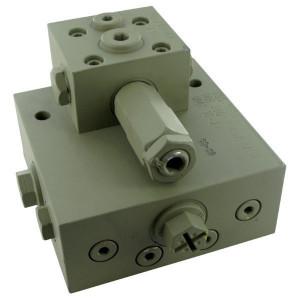"""Neumeister Hydraulik Stroomverdeler 200bar D=1,8mm - VMT102A   315 bar   40 l/min   3 l/min   1/2"""" BSP"""