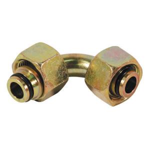 Dietzel Koppeling 10L 12L 90° - VO9010L12L | DIN 3861 | 315 bar | 10 mm | 12 mm