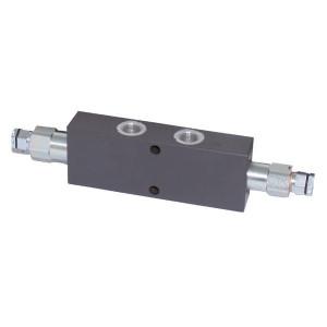 Walvoil Balanceerklep. N1116 1/2 G5P4 - VODL10003ST | Inbus extern | Van D1 : D2 naar U1 : U2 | 35 mm | 41,3 mm | 60 l/min | 400 bar | 1/2 BSP