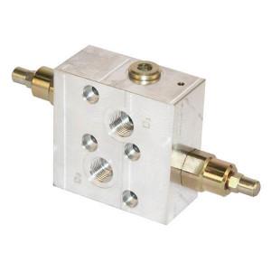 Walvoil Balanceerventiel OMR A 4 1/2BSP - VODLSCF05001 | 6-kantig | Van D1 : D2 naar U1 : U2 | 210 bar bar | 100 mm | 100 mm | M 8 x 1,5 mm | 40 l/min | 210 bar | 50 350 bar | OMR/SMR