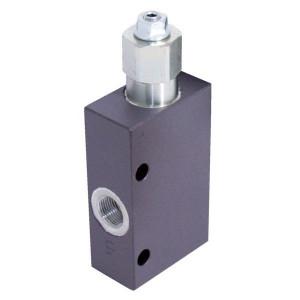 Walvoil Balanceerklep. N1116 1/2 G5P4 - VOSLP10001ST | 6-kantig | Van D1 naar U1 | 210/350 bar bar | 35 mm | 43,3 mm | 60 l/min | 400 bar | 1/2 BSP | 50-350 bar