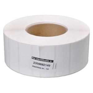Etiket blanco 60x25 PE perm.gl - VPM20030 | 60x25 mm