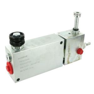 "Walvoil 3-Weg stroomr.vent. VMP+VE St. - VPR3EP20002ST | 1/2"" 1"" BSP | Grofafstelling | 3/4"" BSP | 1/4"" BSP | VMP + VE | Handwiel | 50 220 bar | 150 l/min | 0 90 l/min"