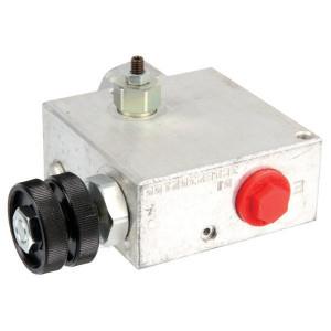 "Walvoil 3-Weg stroomr.vent. 50-30 3/8 VMP - VPR3ET05004 | 3/8"" 1"" BSP | Grofafstelling | Aluminium | 3/8"" BSP | Handwiel | 6,5 mm | 50 220 bar | 50 l/min | 30 l/min"