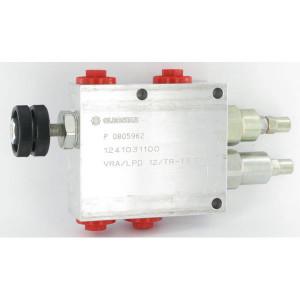 Walvoil Ploegkantelklep VRA/LPD 40 - VRALPD10001 | Aluminium | 50 l/min | 210 bar