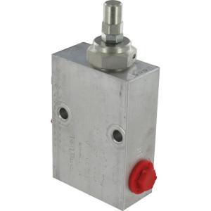 "Walvoil Reduceerventiel S B 3/8 - VRPRL05001 | Aluminium | tot 50 l/m | 100 mm | 143,5 mm | Inbusschroef | 20 l/min | 3/8"" BSP | 40 110 bar"