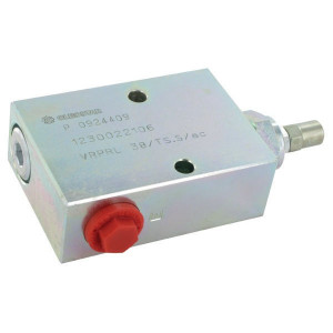 "Walvoil Drukregelventiel Staal - VRPRL05001ST | tot 50 l/m | 100 mm | 143,5 mm | Inbusschroef | 20 l/min | 3/8"" BSP | 100 200 bar"