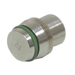 Dicsa Sluitstop RVS A4 - VS28LRVS | RVS 316L | DIN 3861 / DIN 2401 | 28 mm | 160 bar