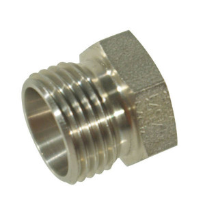 Dicsa Stop 12S M20 RVS - VSK12SRVS | RVS 316L | DIN 2353. | 12 mm | M 20 x 1,5 metrisch