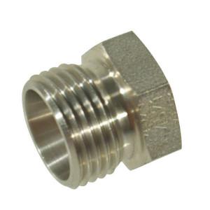 Stop 15L M22x1,5 RVS - VSK15LRVS | RVS 316L | DIN 2353. | 15 mm | M 22 x 1,5 metrisch