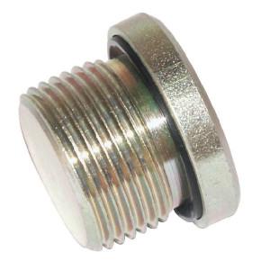 Stop M14 RVS - VSM14WDRVS | Afsluitplug. | RVS 316L | M14x1.5 metrisch | 400 bar