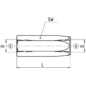 Walvoil Terugslagklep 05 (0,5 Bar) - VUC05001 | 0.5 bar | G 3/8 Inch