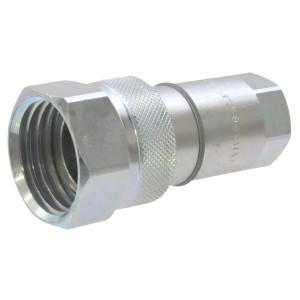 "Faster Koppelingsstuk VVM38GAS.F - VVM38GASF | 3/8"" BSP | 38 mm | 30 l/min | 300 bar | 71,9 mm"