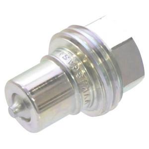 "Faster Insteeknippel 3/8 BSP - VVM38GASM | 30 l/min | 300 bar | 3/8"" BSP | 18,9 mm"