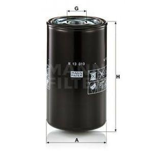MANN-FILTER Hydrauliekfilter - W13010 | 145 mm | 145 mm | 270 mm