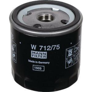 MANN-FILTER Oliefilter M&H - W71275   W 712/75   62/71 mm   M 18 X 1.5 mm   W 712/75