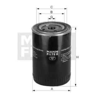 MANN-FILTER Koelvloeistoffilter - WA9232 | WA 923/2 | 11/16-16 UN mm | 62/72 mm