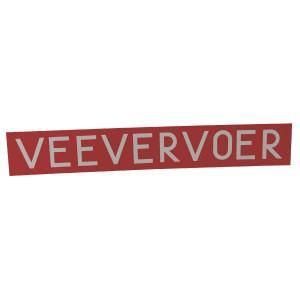 Bord Veevervoer - WB2100 | Aluminium | 679 x 105 mm