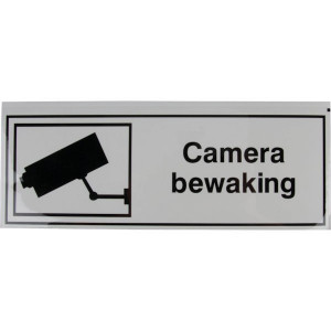 Brady Sticker camera bewaking - WB2220