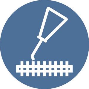 Brady Sticker gebod 100mm messen smeren - WB222762 | Sticker | 100 mm