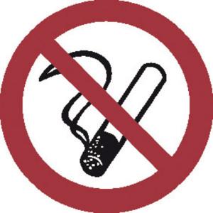 Brady Sticker verbod 100mm roken - WB250001 | Sticker | 100 mm