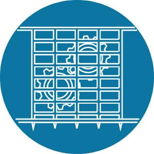 Brady Sticker gebod 100mm afscherming - WB251266 | Sticker | 100 mm
