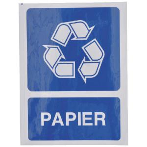 Brady Sticker recycle papier - WB251293 | Sticker | 210 x 297 mm