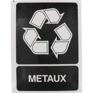 Brady Sticker recyclebare metalen - WB251295FR | 210 x 297 mm